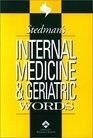 Stedman's Internal Medicine and Geriatric Words