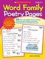 Word Family Poetry Pages 50 Fill-in-the-Blank Practice Pages That Help Kids Master Essential Phonograms for Reading Success