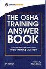 The OSHA Training Answer Book 2nd Edition