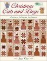 Christmas Cats and Dogs Quilts to Celebrate the Season