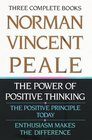 Norman Vincent Peale Three Complete Books  The Power of Positive Thinking The Positive Principle Today Enthusiasm Makes the Difference