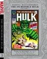 Marvel Masterworks The Incredible Hulk Volume 3