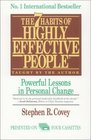 The 7 Habits of Highly Effective People: Powerful Lessons in Personal Change (Audio Cassette) (Unabridged)