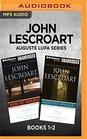 John Lescroart Auguste Lupa Series Books 1-2 Son of Holmes  Rasputin's Revenge