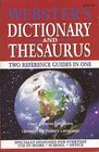 Webster's Dictionary and Thesaurus: Easy-to-read Format