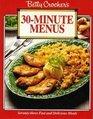 Betty Crocker's 30 Minute Menus
