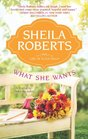 What She Wants (Life in Icicle Falls, Bk 3)