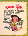 Dear God ... If There's a Meaning for Every Word Is There a Reason for Everything? (Dear God Kids)