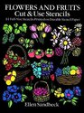 Flowers and Fruits Cut  Use Stencils  43 Full-Size Stencils Printed on Durable Stencil Paper