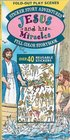 Jesus and His Miracles Sticker Story Adventures  Over 40 Reusable Stickers