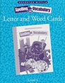 Letter and Word Cards (Houghton Mifflin Spelling and Vocabulary, Grade 4)