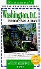 Frommer's 97 Frugal Traveler's Guides Washington D C from 50 a Day