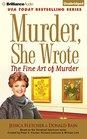 Murder She Wrote The Fine Art of Murder