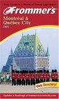 Frommer's 2001 Montreal and Quebec City