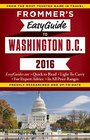 Frommer's EasyGuide to Washington DC 2016