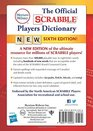 The Official SCRABBLE Players Dictionary Sixth Edition