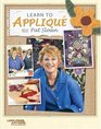 Learn To Applique With Pat Sloan