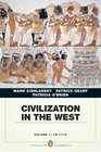 Civilization in the West Penguin Academic Edition Volume 1