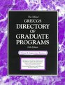 The Official Gre Cgs Directory of Graduate Programs Engineering Business
