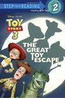 The Great Toy Escape (Disney Pixar Toy Story 3) (Step into Reading)