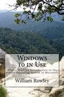 Windows 10 in Use What's new An Introduction to the newest Operating System of Microsoft