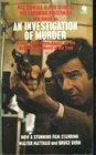 Investigation of Murder