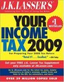 JK Lasser's Your Income Tax 2009 For Preparing Your 2008 Tax Return