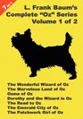 7 Books in 1 L Frank Baum's Original Oz Series Volume 1 of 2 The Wonderful Wizard of Oz The Marvelous Land of Oz Ozma of Oz Dorothy and the Wizard  City of Oz and The Patchwork Girl Of Oz