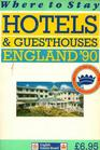 Where to Stay Hotels and Guesthouses England '90 issue