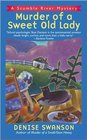 Murder of a Sweet Old Lady (Scumble River, Bk 2)