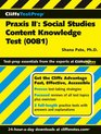 CliffsTestPrep Praxis II: Social Studies Content Knowledge Test (0081) (Cliffstestprep)