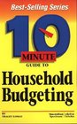 10 Minute Guide to Household Budgeting