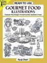 Ready-to-Use Gourmet Food Illustrations (Dover Clip-Art Series)