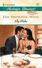 The Wedding Wish (Tango) (Harlequin Romance, No 3782)