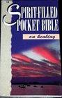 Spirit-Filled Pocket Bible on Healing