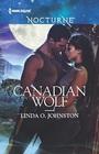 Canadian Wolf  Harlequin Nocturne No 215
