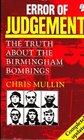 Error of Judgement Birmingham Bombings