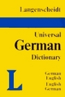Langenscheidt's Universal German Dictionary German English English German