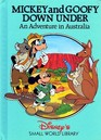 Mickey and Goofy Down Under: An Adventure in Australia (Small World Library)