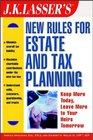 JK Lasser's New Rules for Estate Planning and Tax