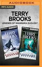 Terry Brooks Legends of Shannara Duology Bearers of the Black Staff  The Measure of the Magic