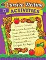 Cursive Writing Activities