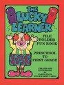 The lucky learner File folder fun book  preschool to kindergarten
