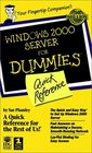 Windows 2000 Server for Dummies Quick Reference