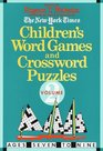 Children's Word Games and Crossword Puzzles Volume 2 For Ages 7-9