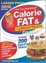 CalorieKing 2019 Larger Print Calorie Fat  Carbohydrate Counter