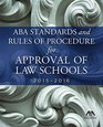 20152016 ABA Standards and Rules of Procedure for Approval of Law School