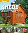 Sunset Sheds  Garages Detailed building plans for every shape of storage structure