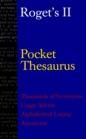 Roget's II Pocket Thesaurus