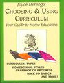 Choosing  Using Curriculum  Your Guide to Home Education